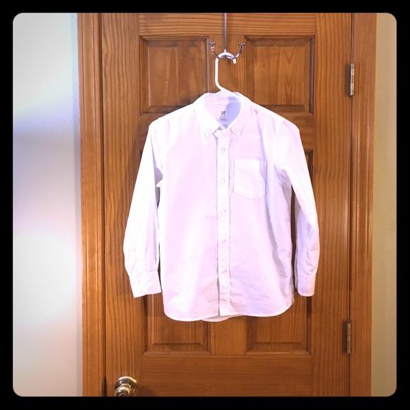 GAP Other - Gap kids boys white button down shirt